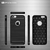 Eiroo Carbon Shield iPhone 6 Plus / 6S Plus Ultra Koruma Siyah Kılıf - Resim 2