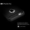 Eiroo Carbon Shield iPhone 6 Plus / 6S Plus Ultra Koruma Siyah Kılıf - Resim 3