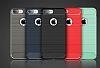 Eiroo Carbon Shield iPhone 7 Plus Ultra Koruma Siyah Kılıf - Resim 8