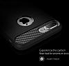 Eiroo Carbon Shield iPhone 7 Plus Ultra Koruma Lacivert Kılıf - Resim 6
