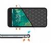 Eiroo Carbon Shield iPhone 7 Plus Ultra Koruma Siyah Kılıf - Resim 2