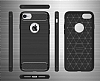 Eiroo Carbon Shield iPhone 7 Ultra Koruma Dark Silver Kılıf - Resim 10
