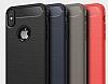 Eiroo Carbon Shield iPhone X Ultra Koruma Siyah Kılıf - Resim 8