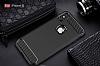 Eiroo Carbon Shield iPhone X Ultra Koruma Siyah Kılıf - Resim 1