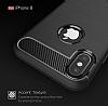 Eiroo Carbon Shield iPhone X Ultra Koruma Siyah Kılıf - Resim 3