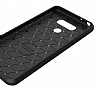 Eiroo Carbon Shield LG G6 Ultra Koruma Siyah Kılıf - Resim 3
