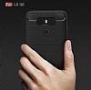 Eiroo Carbon Shield LG G6 Ultra Koruma Siyah Kılıf - Resim 2