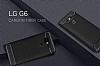 Eiroo Carbon Shield LG G6 Ultra Koruma Siyah Kılıf - Resim 1