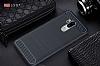 Eiroo Carbon Shield LG G7 ThinQ Ultra Koruma Siyah Kılıf - Resim 9