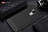 Eiroo Carbon Shield LG G7 ThinQ Ultra Koruma Lacivert Kılıf - Resim 2