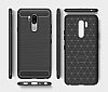 Eiroo Carbon Shield LG G7 ThinQ Ultra Koruma Lacivert Kılıf - Resim 1