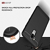 Eiroo Carbon Shield LG G7 ThinQ Ultra Koruma Lacivert Kılıf - Resim 7