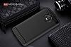 Eiroo Carbon Shield Motorola Moto E4 Plus Ultra Koruma Siyah Kılıf - Resim 5