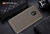 Eiroo Carbon Shield Motorola Moto E4 Plus Ultra Koruma Dark Silver Kılıf - Resim 5