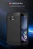 Eiroo Carbon Shield Motorola Moto E4 Plus Ultra Koruma Lacivert Kılıf - Resim 4
