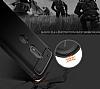Eiroo Carbon Shield Motorola Moto G4 Ultra Koruma Siyah Kılıf - Resim 6