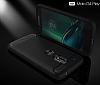 Eiroo Carbon Shield Motorola Moto G4 Ultra Koruma Siyah Kılıf - Resim 3