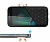 Eiroo Carbon Shield Motorola Moto G4 Ultra Koruma Siyah Kılıf - Resim 2