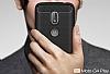 Eiroo Carbon Shield Motorola Moto G4 Ultra Koruma Siyah Kılıf - Resim 5