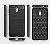 Eiroo Carbon Shield Nokia 3 Ultra Koruma Dark Silver Kılıf - Resim 7