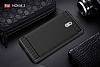 Eiroo Carbon Shield Nokia 3 Ultra Koruma Dark Silver Kılıf - Resim 5