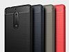 Eiroo Carbon Shield Nokia 5 Ultra Koruma Dark Silver Kılıf - Resim 3
