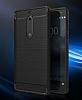 Eiroo Carbon Shield Nokia 5 Ultra Koruma Dark Silver Kılıf - Resim 5