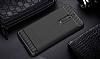 Eiroo Carbon Shield Nokia 5 Ultra Koruma Dark Silver Kılıf - Resim 4