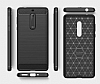 Eiroo Carbon Shield Nokia 5 Ultra Koruma Dark Silver Kılıf - Resim 2