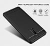 Eiroo Carbon Shield Nokia 6 Ultra Koruma Siyah Kılıf - Resim 2