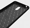 Eiroo Carbon Shield Nokia 6 Ultra Koruma Siyah Kılıf - Resim 1