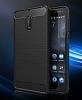 Eiroo Carbon Shield Nokia 6 Ultra Koruma Siyah Kılıf - Resim 8