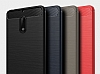 Eiroo Carbon Shield Nokia 6 Ultra Koruma Siyah Kılıf - Resim 10