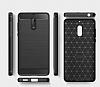 Eiroo Carbon Shield Nokia 6 Ultra Koruma Siyah Kılıf - Resim 4