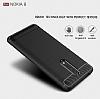 Eiroo Carbon Shield Nokia 8 Ultra Koruma Gri Kılıf - Resim 3