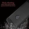 Eiroo Carbon Shield OnePlus 5 Ultra Koruma Lacivert Kılıf - Resim 4