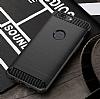 Eiroo Carbon Shield OnePlus 5 Ultra Koruma Lacivert Kılıf - Resim 9