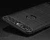 Eiroo Carbon Shield OnePlus 5 Ultra Koruma Lacivert Kılıf - Resim 7