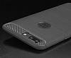 Eiroo Carbon Shield OnePlus 5 Ultra Koruma Lacivert Kılıf - Resim 2