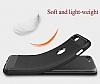 Eiroo Carbon Shield OnePlus 5 Ultra Koruma Lacivert Kılıf - Resim 6