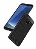 Eiroo Carbon Shield Samsung Galaxy A8 2018 Ultra Koruma Siyah Kılıf - Resim 3