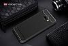 Eiroo Carbon Shield Samsung Galaxy C5 Pro Ultra Koruma Dark Silver Kılıf - Resim 1
