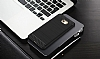 Eiroo Carbon Shield Samsung Galaxy C9 Pro Ultra Koruma Lacivert Kılıf - Resim 3