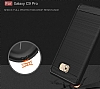 Eiroo Carbon Shield Samsung Galaxy C9 Pro Ultra Koruma Siyah Kılıf - Resim 8