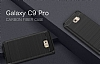 Eiroo Carbon Shield Samsung Galaxy C9 Pro Ultra Koruma Lacivert Kılıf - Resim 4