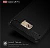 Eiroo Carbon Shield Samsung Galaxy C9 Pro Ultra Koruma Siyah Kılıf - Resim 7