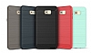 Eiroo Carbon Shield Samsung Galaxy C9 Pro Ultra Koruma Lacivert Kılıf - Resim 9