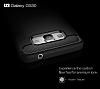 Eiroo Carbon Shield Samsung Galaxy Grand Prime / Prime Plus Ultra Koruma Dark Silver Kılıf - Resim 5