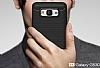 Eiroo Carbon Shield Samsung Galaxy Grand Prime / Prime Plus Ultra Koruma Dark Silver Kılıf - Resim 3