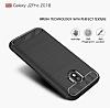 Eiroo Carbon Shield Samsung Grand Prime Pro J250F Ultra Koruma Siyah Kılıf - Resim 5